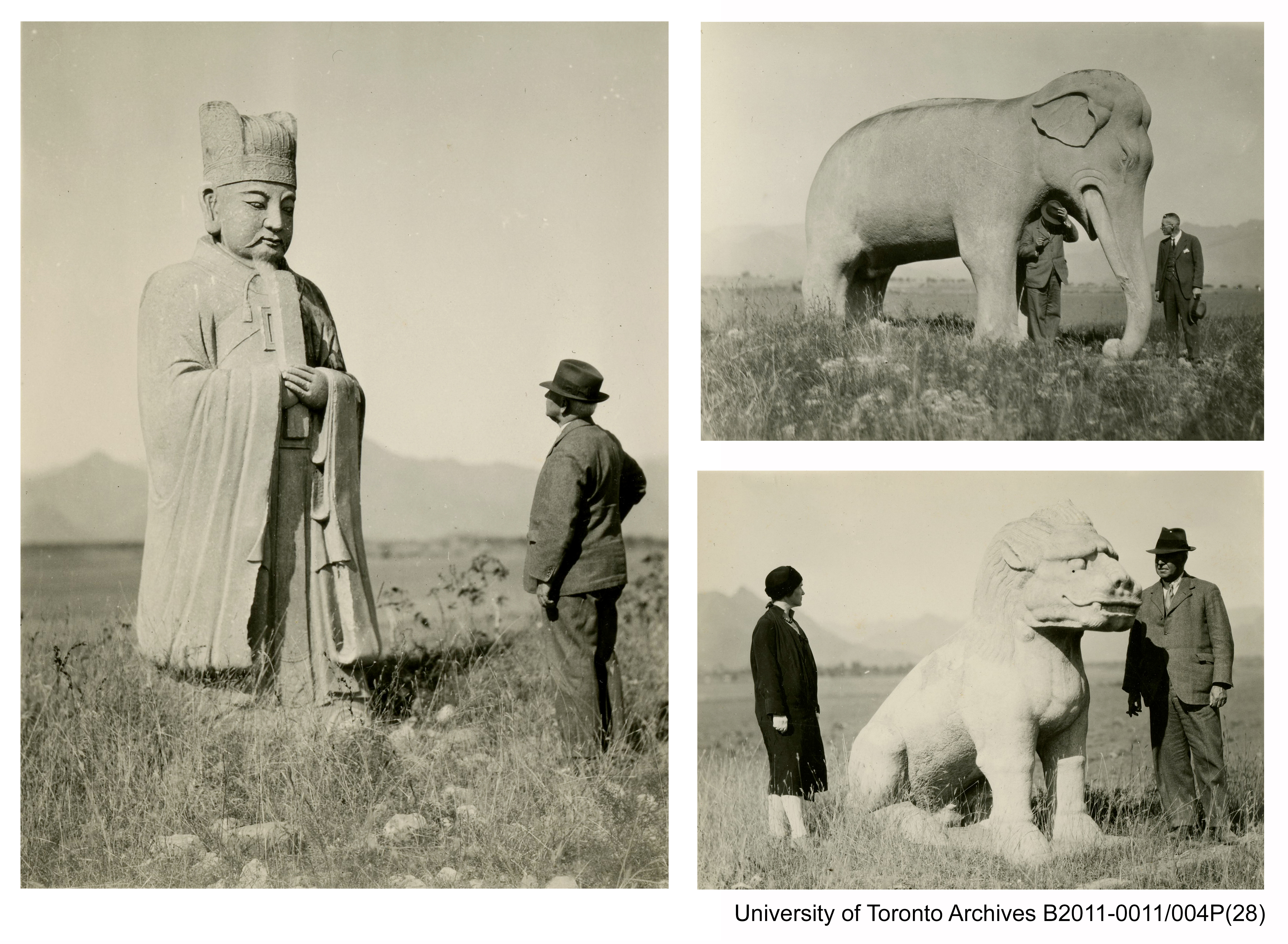 At the Ming tombs, 21 Oct 1920