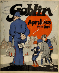 Cover of The Goblin, April 1923