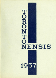 Cover of Torontonensis, 1957